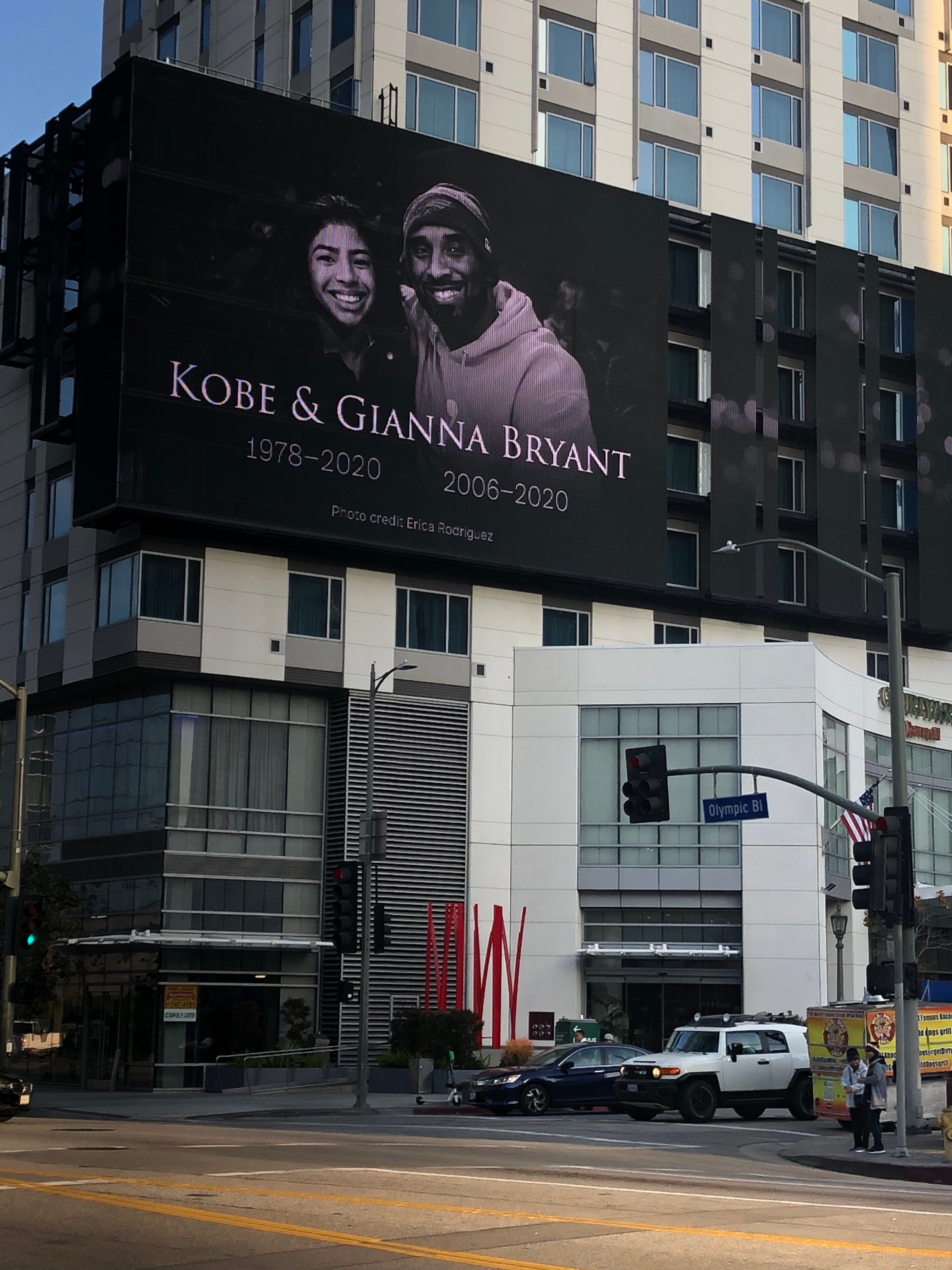 Latest from Kobe Bryant memorial: Emotional ceremony begins at Staples Center