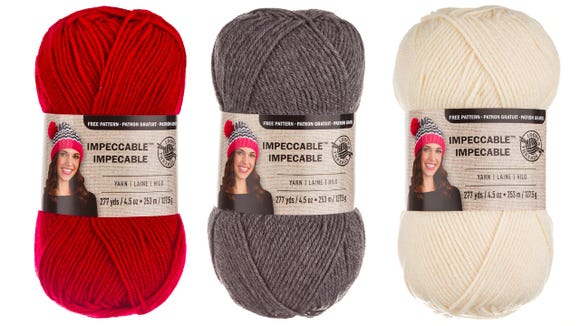 For a basic, versatile yarn, you can't go wrong with this product.