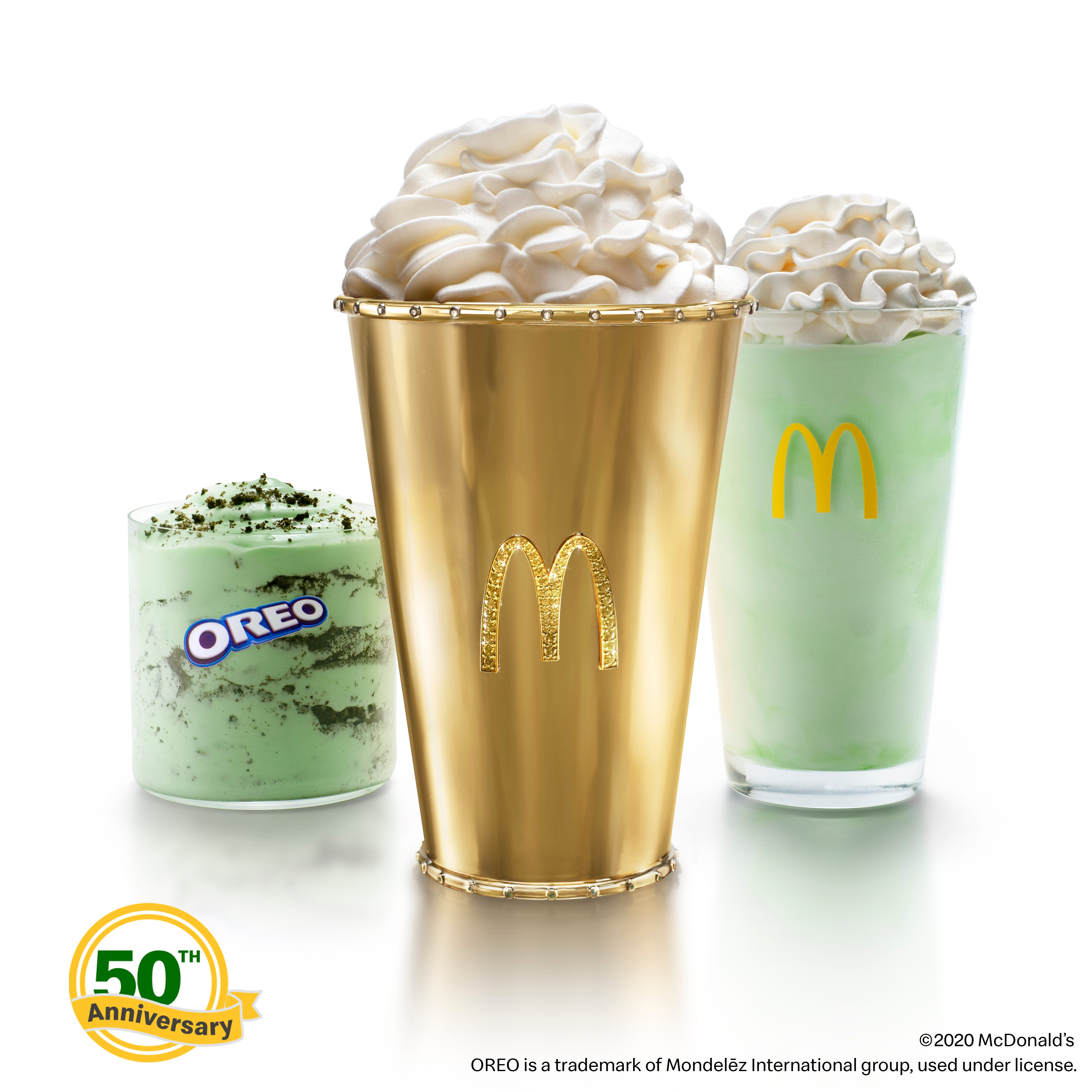 McDonald's unveils 'Golden Shamrock Shake' eBay auction and contest for special cups, each worth $90K