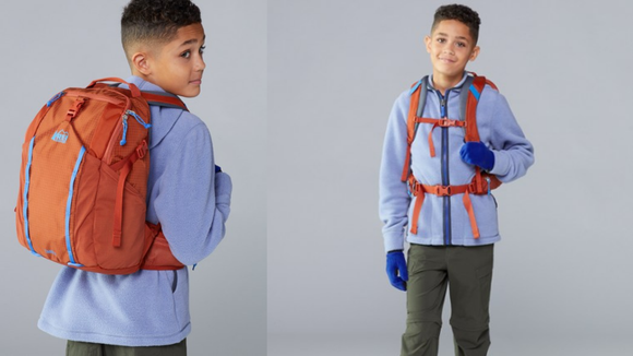 What kid doesn't want a backpack with snack pockets and comfy straps?