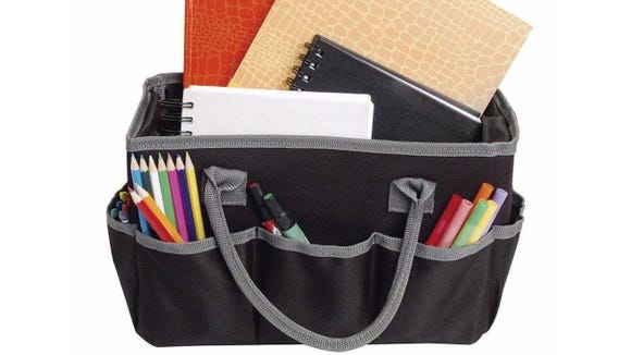 Take your craft supplies anywhere with this bag.