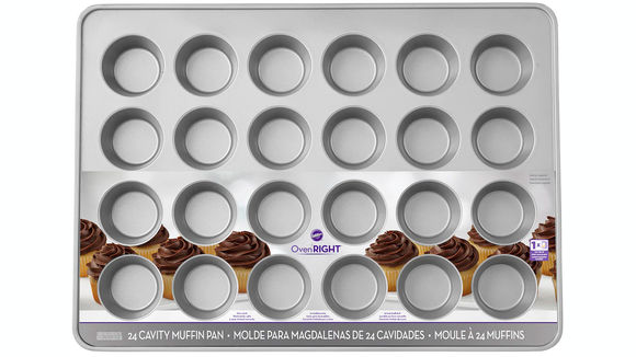 Finally, you can bake a full batch of cupcakes in one pan!