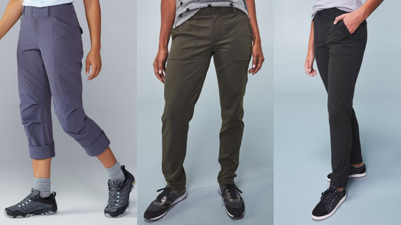 These are comfy and cute pants for all types of outdoor activities.