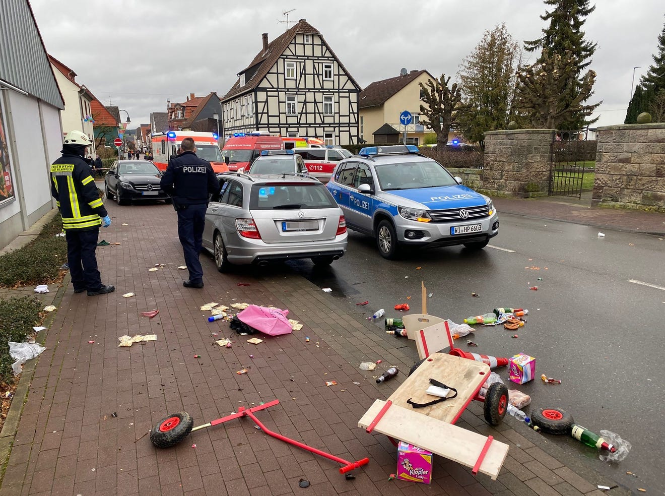 Man drives into carnival crowd in Germany