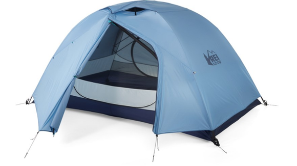 Imagine this cute tent overlooking a mountainous view or a serene lake.
