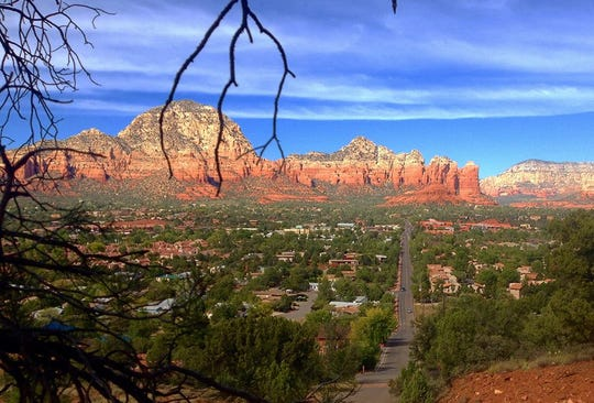 Several locations in Sedona, Arizona, are associated with energy vortexes, including Airport Mesa, Cathedral Rock, Bell Rock and Boynton Canyon.