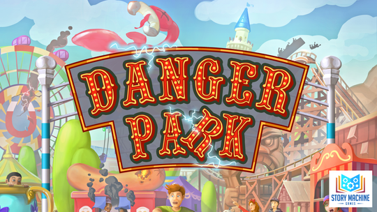 Danger Park, a new board game from Story Machine Games inspired by the infamous Action Park.