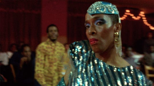 """A scene from Jennie Livingston's documentary """"Paris is Burning,"""" now on Blu-ray from the Criterion Collection."""