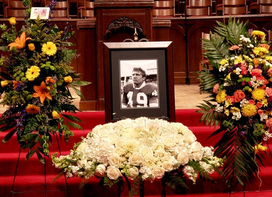 "The life of Charles ""Cleve"" Whitener III was honored Tuesday at First Baptist Church. Whitener played football at Southern Methodist University, where he got his bachelor of science degree in mechanical engineering."