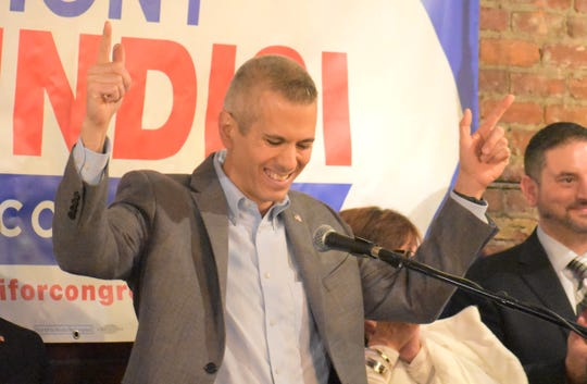 Rep. Anthony Brindisi, D-Utica, announced his re-election bid on Feb. 24, 2020.