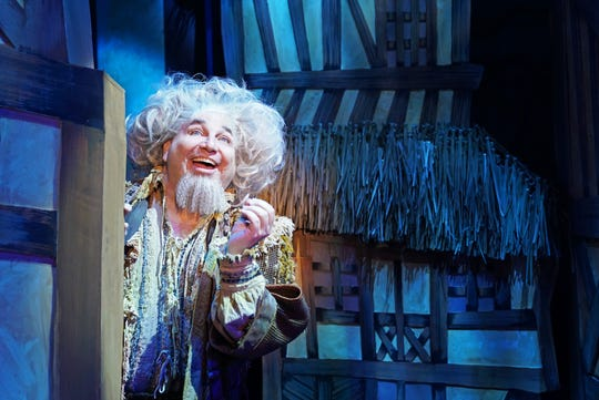 """Steven J. Heron plays """"Nostradamus."""" """"Something Rotten"""" will be on stage at Titusville Playhouse through March 22, 2020. Visit titusvilleplayhouse.com."""