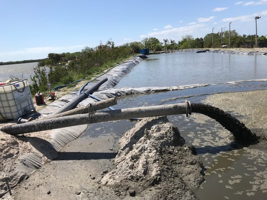 The muck dredging project in the Grand Canal area was funded primarily through revenue from the Save Our Indian River Lagoon sales tax approved by Brevard County voters in 2016.