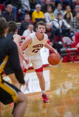 Buckeye Central's Tyler Rose earned Third Team All-T-F honors after being an honorable mention in the Northern 10, Northwest District and District 6.