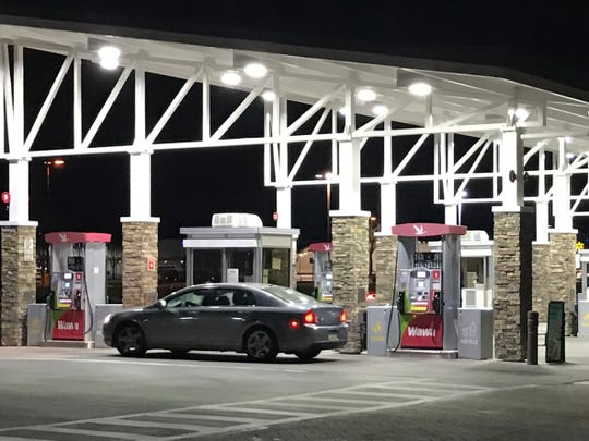 A Wawa gas station on Route 38 near Cuthbert Boulevard was the site of the theft of a car left running and unattended on Jan. 31.
