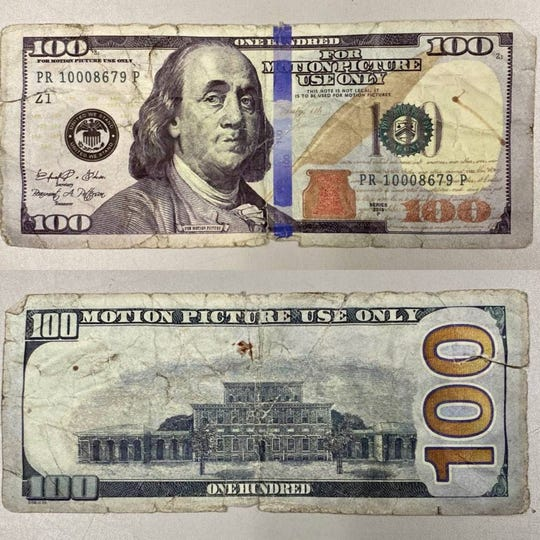 A Montgomery man has been charged with passing a fake $100 bill he allegedly tried to use to pay for gas at a South Brunswick station.