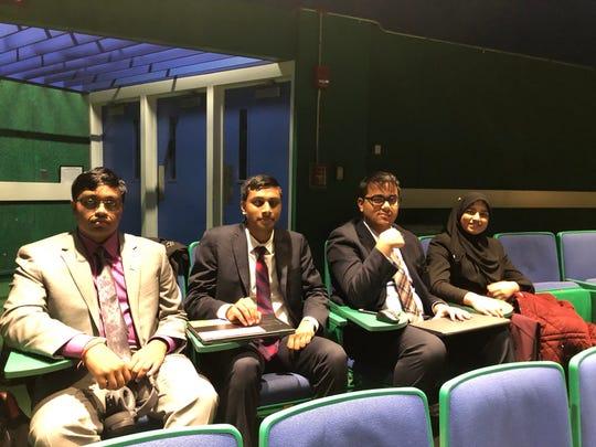 TEECS' Speech & Debate Team: Yusra, Sarang, Akshat, Ayesha, Anika, Arnav, and Sudip participated in the Harvard National Forensics Tournament held at Harvard University