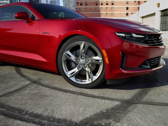 A year-old Chevrolet Camaro could cost 32.7% less than a new Camaro, according a survey by iSeeCars.com.