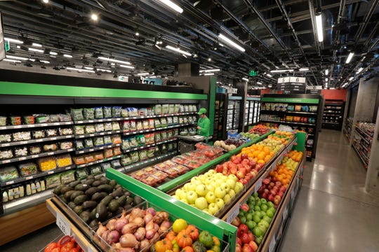 Following the opening of several smaller convenience-type stores using an app and cashier-less technology to tally shoppers' selections, the store will be the first Amazon Go full-sized cashier-less grocery store.