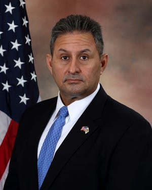 This undated photo provided by the U.S. Department of Justice shows Michael Carvajal.