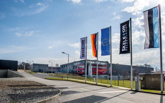 The Skeleton Technologies Group factory is located in Grossröhrsdorf, Germany, in the heart of a high-tech manufacturing region.
