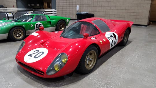 "The actual Ferrari used in the hit ""Ford v. Ferrari"" will be at this weekend's Autorama at the TCF Center"