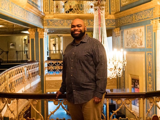 """Baritone Darren Drone, 30, is a resident artist in the Michigan Opera Theatre Studio this year, and will play the title role Saturday and Sunday in """"Gianni Schicchi / Buoso's Ghost"""" at the Macomb Center for the Performing Arts."""