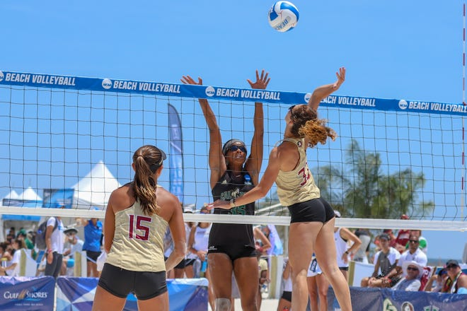 FSU beach volleyball was eliminated in the quarterfinals of last year's NCAA Beach Volleyball Championship