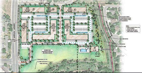 Preliminary plans for an apartment project south of Prospect Road and Shields Street have been submitted to the city of Fort Collins planning department for an early review.