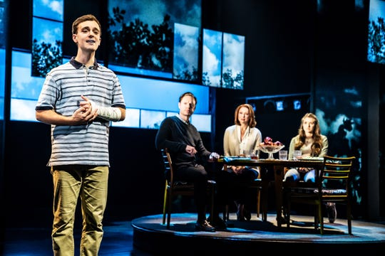 "Stephen Christopher Anthony stars as Evan Hansen in the North American tour of ""Dear Evan Hansen."""
