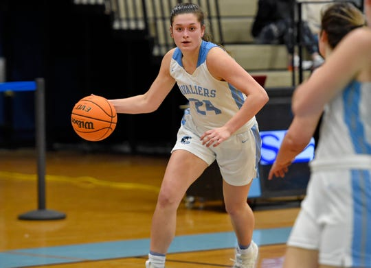 Brashier Middle College played at Christ Church in the third round of the Class AA girls basketball playoffs on Monday, Feb. 24, 2020.