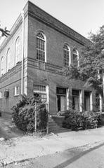 Old Phillis Wheatley building on Broad St.  June 2, 1977. old negative scanned 4/2008
