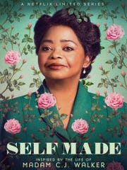 """Octavia Spencer portrays Madam C.J. Walker in this promotional image for Netflix series """"Self Made."""""""