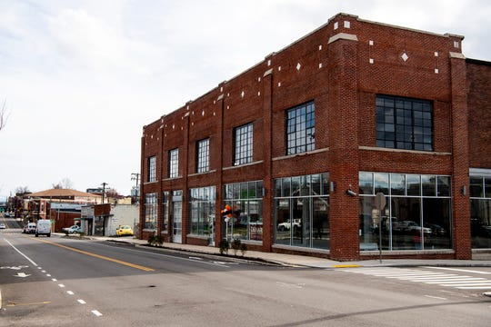 The building at 835 N. Central St in Knoxville that will transform into the new headquarters for Axle Logistics on Tuesday, February 25, 2020.