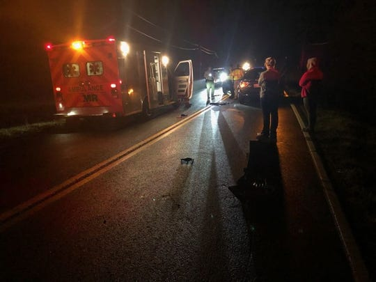 One person was killed when a vehicle struck a pedestrian along Tazewell Pike in East Knox County on Tuesday, Feb. 25, 2020.