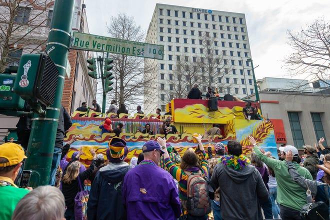 Independent Mardi Gras Parade.  Tuesday, Feb. 25, 2020.
