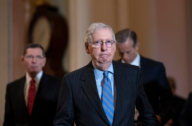 Senate Majority Leader Mitch McConnell, R-Ky., does not support the House version of a COVID-19 relief package.