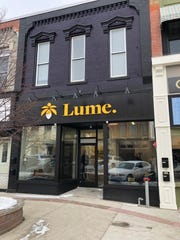 Lume, a recreational marijuana retailer, opens Tuesday, Feb. 25, 2020 in Owosso