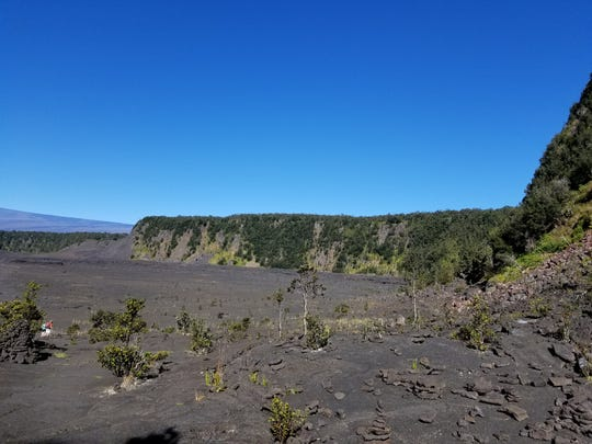 If you like adventure, consider hiking Hawai'i Volcanoes National Park during your spring break.