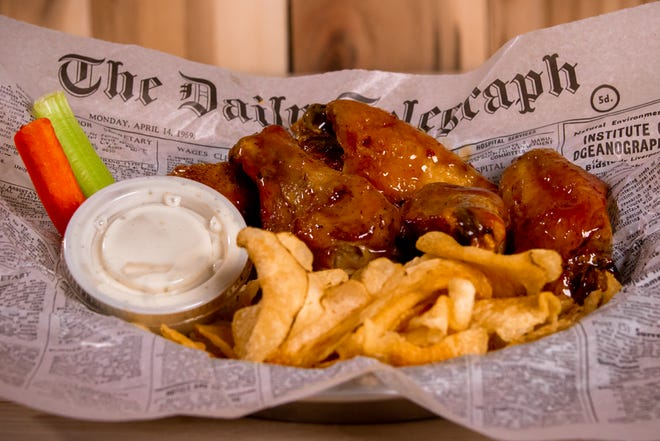 Good Land Wing Co. has 11 sauce options, including garlic Parmesan and sriracha bourbon, and four dry rubs.
