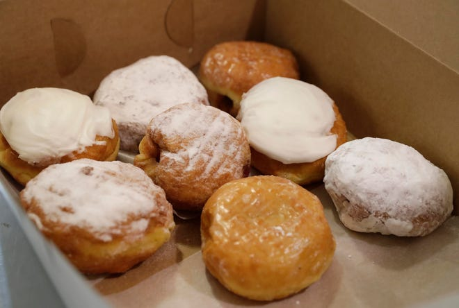 Paczki are shown in 2020 at National Bakery and Deli.