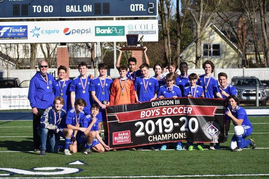 River Oaks defeated Laurel Christian 4-1 to capture the MAIS Division III boy's soccer state championship on Saturday.