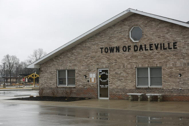 The current Daleville Town Hall at 8019 S. Walnut St. could become a community center if the town builds a new building at the corner of Walnut and Ind. 32.