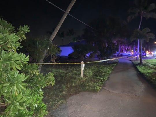 Lee County Sheriff's deputies responded to a call for service on the 26900 block of McLaughlin Avenue in Bonita Springs on Monday, Feb. 24, 2020. A boy,5, was pulled out of a car submerged in water and was pronounced dead hours later at a nearby hospital. After further search, deputies found the body of a 41-year-old woman