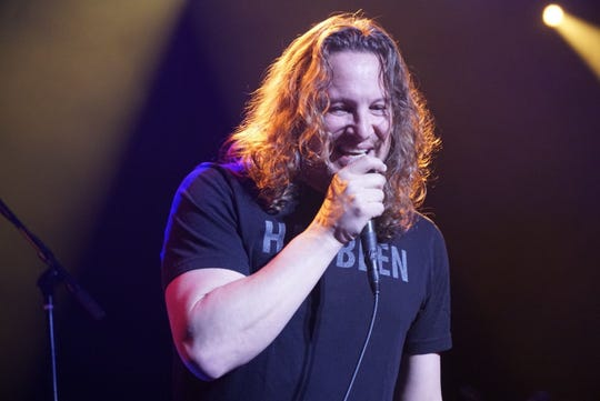 Candlebox lead singer Kevin Martin. The band performs Feb. 26, 2020, at The Ranch in Fort Myers, Florida.