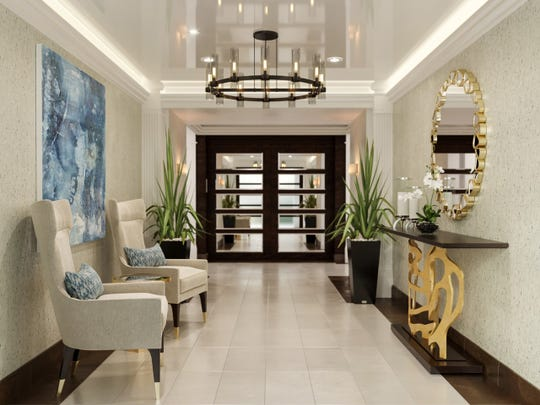 Clive Daniel Hospitality has recently completed the renovation of three lobbies and corridors for the Grande Dominica at The Dunes of Naples.
