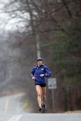 Roberta Groner ran as much as 5600 feet of elevation in one week to prepare for the U.S. Olympic Trials, which takes place Saturday in Atlanta.  The Atlanta course will have approximately 1400 feet of elevation throughout the 26.2 miles. Tuesday February 11, 2020
