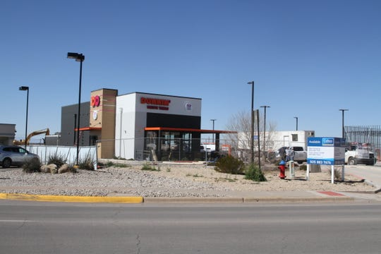 The Dunkin Donuts/Baskin Robbins on White Sands Boulevard was initially built to become Alamogordo's first drive-thru Starbucks.