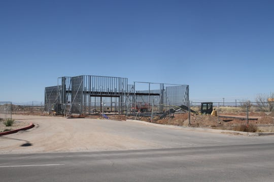Structure at 1300 S. White Sands Boulevard potentially slated to be the second Starbucks in Alamogordo.