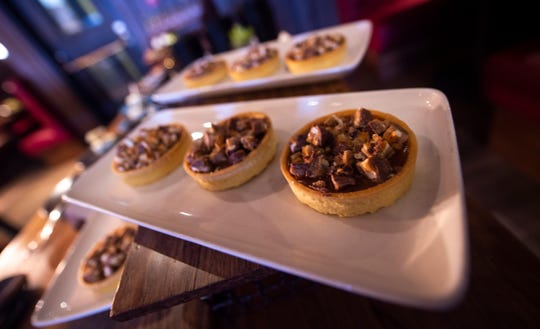 Take 5 banana tarts at Revelry in Hershey. Reverly opened in Jan. 2020 inside the former site of Forebay at the Hershey Lodge.