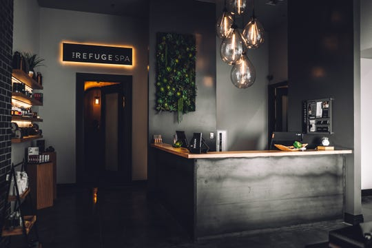 The new Refuge Spa in the Renaissance Reno hotel encompasses seven treatment rooms and 5,000 square feet.